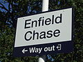 Enfield Chase stn signage 2012.JPG