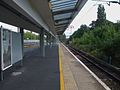Enfield Town stn platform 1 look south.JPG
