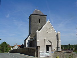 The church of Enquin-sur-Baillons