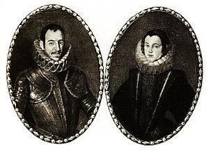 Enrique de Aragón Folc de Cardona y Córdoba - Enrique de Aragón and his wife.