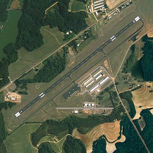 Enterprise Municipal Airport (Alabama) - NAIP aerial image, June 2006