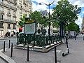 Entrée Station Métro Kléber Paris 1.jpg