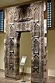 Entrance door to the shrine of Imam al-Bahir in Mosul, Iraq, 7th century AH. Iraq Museum.jpg