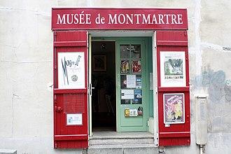 Musée de Montmartre - Entrance of Musée de Montmartre (2011)