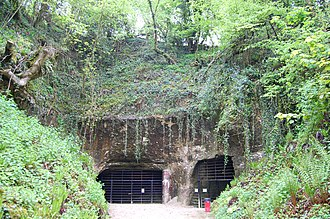 Beer Quarry Caves - Entrance to the caves