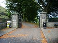 Entrance to Clitheroe Castle and grounds - geograph.org.uk - 585379.jpg