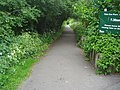 Entrance to Horsenden Hill park from car park - geograph.org.uk - 2255169.jpg
