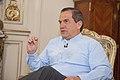 Entrevista otorgada por el Canciller Ricardo Patiño a Telesur (14539229179).jpg