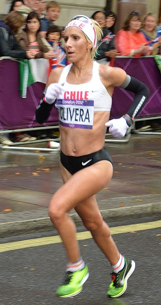 Chile at the 2012 Summer Olympics - Erika Olivera in women's marathon
