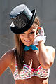 Erin McNaught in underwear @ Federation Square 01.jpg