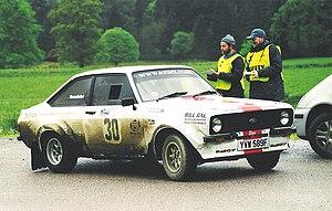 Regularity rally -  Ford Escort MKII