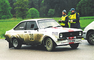 Regularity rally -  Ford Escort MKII