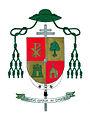 Escudo episcopal de Fray Jesús Sanz Montes.jpg
