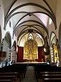 Església parroquial de la Mare de Déu dels Àngels (Llívia) nau.jpg
