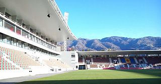 Estádio do Marítimo football stadium in Funchal, Madeira, Portugal