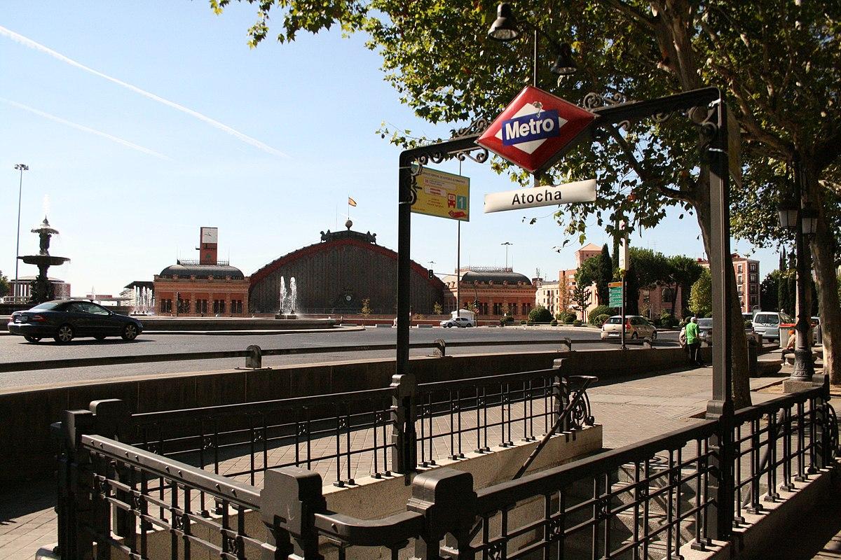 Estaci N De Atocha Metro De Madrid Wikipedia La