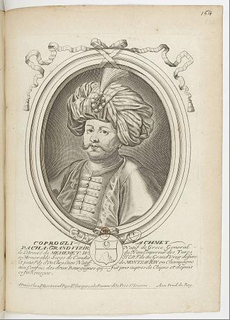 Köprülüzade Fazıl Ahmed Pasha - Another engraving of Köprülüzade Fazıl Ahmed Pasha, from 1690