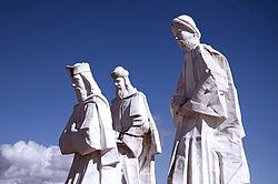 Estatua dos Reis Magos em Natal/RN