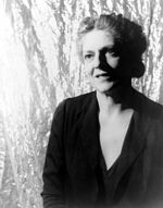 Black=and-white photo by Carl Van Vechten of Ethel Barrymore.
