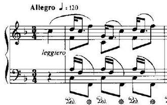 Études (Chopin) - Image: Etude Op 25N3