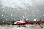 Eurocopter AS350 B2 Ecureuil (N145TH) on Glacier.jpg