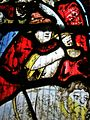 Execution, stained glass, Great Malvern.JPG