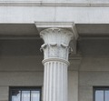 Exterior column detail. U.S. Custom House, East Bay and Bull Streets, Savannah, Georgia LCCN2014630108.tif