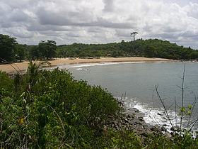 Plage d'Ezile bay village
