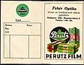 Fénykép boríték 1940, Fehér Optika látszer és fényképészeti szaküzlet. Fortepan 81515.jpg