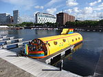 FAB4 narrowboat, Salthouse Dock, Liverpool (1).JPG