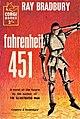 FAHRENHEIT 451 by Ray Bradbury, Corgi 1957. 160 pages. Cover by John Richards.jpg