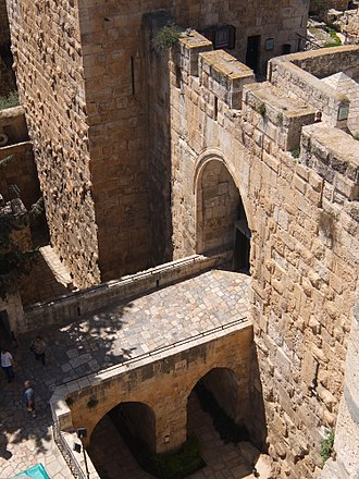 Old City (Jerusalem) - Outer wall of Tower of David