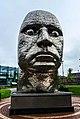 Face of Wigan sculpture, Wigan.jpg