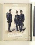 Fanteria di Linea, gr. tenuta. Caporale, 2º sergente, 1º sergente (NYPL b14896507-76716).tiff