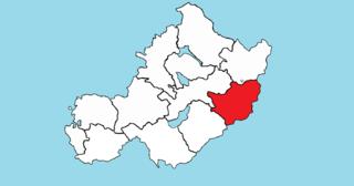 Farbill Barony in Leinster, Ireland