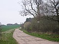 Farm track to Warriors Lodge Farm. - geograph.org.uk - 1802457.jpg