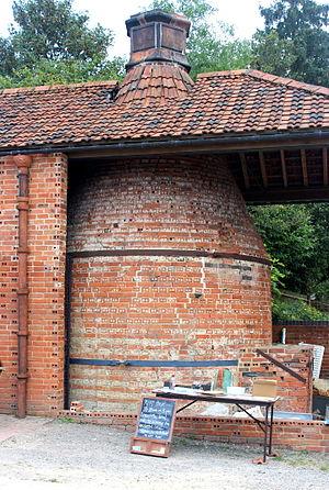 Wrecclesham - Farnham Pottery Kiln
