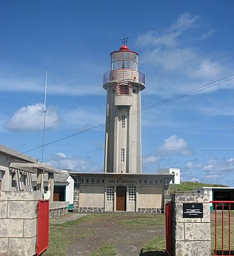 Lighthouse of Carapacho - Image: Farol do Carapacho Graciosa Azores