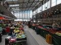 Fehérvári Market Hall. Interior. Summer offers. - Fehérvári Rd. & Október huszonharmadika St., Szentimreváros, Budapest District XI., Hungary.JPG
