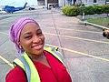 Female Engineer at Bristow Helicopters Hangar.jpg