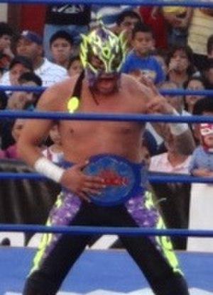 Fénix (wrestler) - Fénix in March 2013 as the AAA Fusión Champion