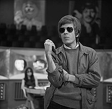 Walker on Dutch TV, 1968