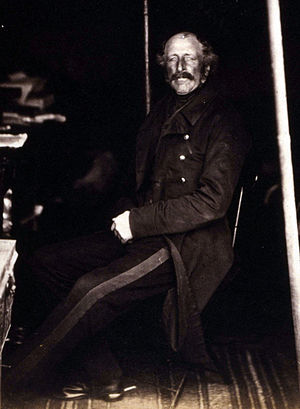 John Pennefather - Gen. Sir John Pennefather in the Crimea in 1855, photographed by Roger Fenton