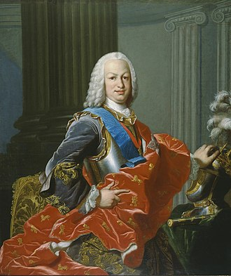 Ferdinand VI of Spain - Portrait by Louis Michel Van Loo