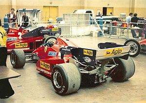 Ferrari 126C - Image: Ferrari 126C2B Detroit Grand Prix 1983