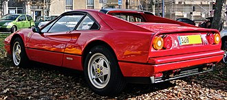 Ferrari 328 - 1989 328 GTB, equipped with ABS and convex wheel design.