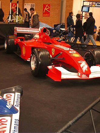 Ferrari F2001 - Image: Ferrari Fórmula 1