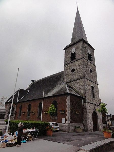 Ferrière-la-Grande (Nord, Fr) église