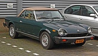 Fiat 124 Sport Spider - 1981 Fiat 124 Spider 2000 (US)