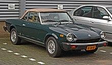 1981 fiat spider 2000 pininfarina